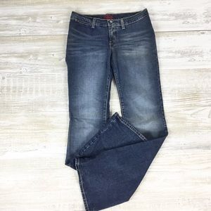 Blue Cult Distressed Boot Cut Jeans